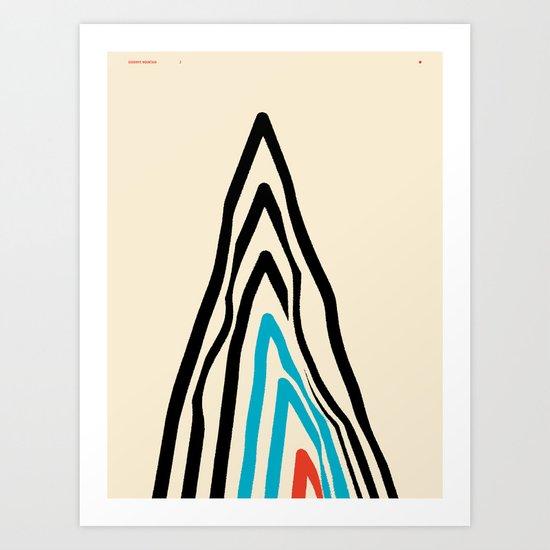 GOODBYE MOUNTAIN 2 — Matthew Korbel-Bowers Art Print