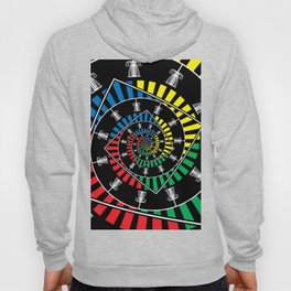 Spinning Disc Golf Baskets Hoody