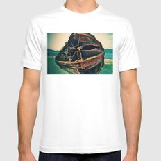 The Claw MEDIUM Mens Fitted Tee White