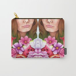 Bloom Goddess Carry-All Pouch