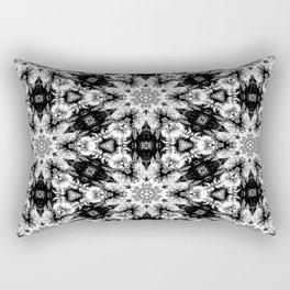 Rorschach Test Pattern Rectangular Pillow