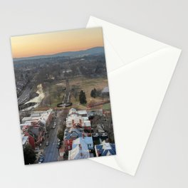 Sunset over Baker Park Stationery Cards