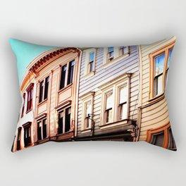 North Beach Row Rectangular Pillow
