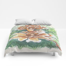 Empire of Mushrooms: Cantharellus cibarius Comforters