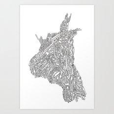 Jack Lenovo Art Print