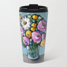 Beautiful Day Bouquet Travel Mug