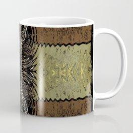 Bronze & Gold Hour Glass Coffee Mug