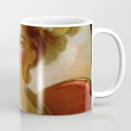 Jean-Honore Fragonard - The Goddess Minerva Coffee Mug