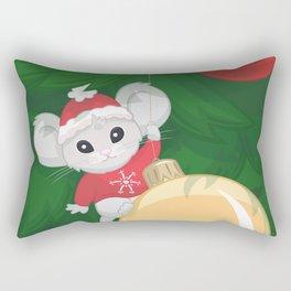 Christmas Mouse Rectangular Pillow