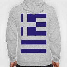 Greece flag emblem Hoody