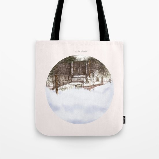 find the clouds Tote Bag