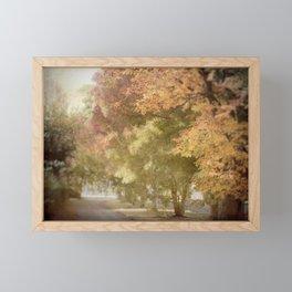 Autumn Trees Framed Mini Art Print