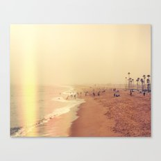 Foggy Tide Canvas Print