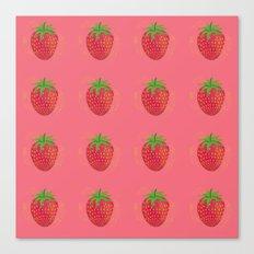 Strawberry Sweetness Canvas Print