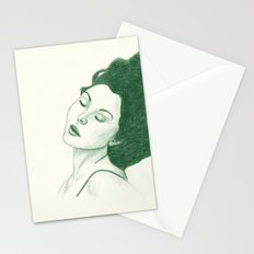 Green Sleep Stationery Cards