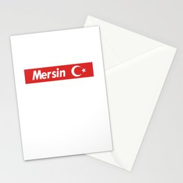 Mersin 33 Türkiye Stationery Cards