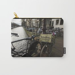 Heineken Bike on the Amsterdam Canals Carry-All Pouch
