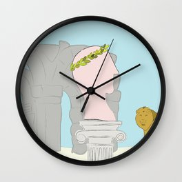 Emperor's memories Wall Clock