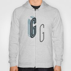 The Exploded Alphabet / G Hoody