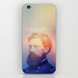 Howard. 1830-1909. iPhone Skin