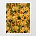 Yellow poppies by katerinamitkova