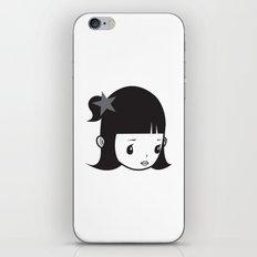 LUCY PIERROT iPhone & iPod Skin