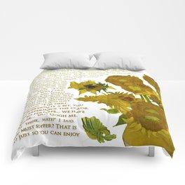 Van Gogh Medicated- Hanna Gadsby Comforters