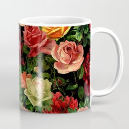 Vintage & Shabby chic - floral roses flowers rose Coffee Mug