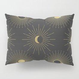 Moon and Sun Theme Pillow Sham