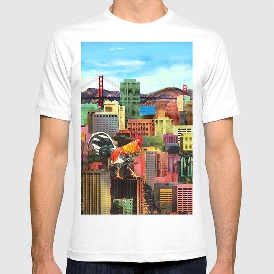 San Francisco City Chicken T-shirt