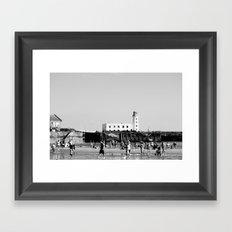 Scarborough 2016 (2) Framed Art Print