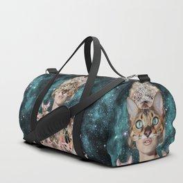Cat Lady Duffle Bag