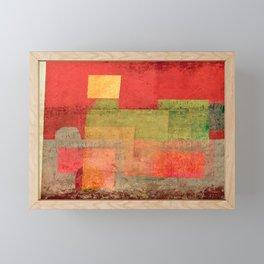 Maria-Fumaça Framed Mini Art Print