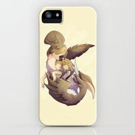 Cretaceous Duel iPhone Case