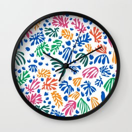 Matisse Colorful Pattern #1 Wall Clock