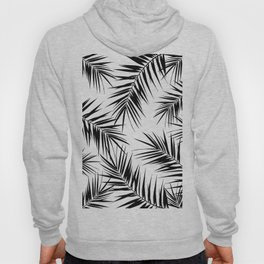 Palm Leaves Cali Finesse #3 #BlackWhite #tropical #decor #art #society6 Hoody
