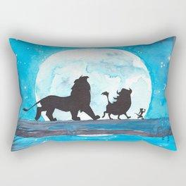 The Lion King Stencil Rectangular Pillow
