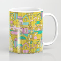 Pattern Project #2 / Happy Town Mug