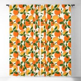 Oranges and Lemons Blackout Curtain