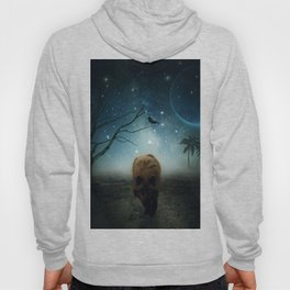The Raven And The Wolf by GEN Z Hoody