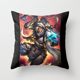 over ana watch Throw Pillow