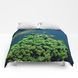 Archipelago Island - Aerial Photography Comforters