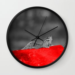 On the right way of Life Wall Clock