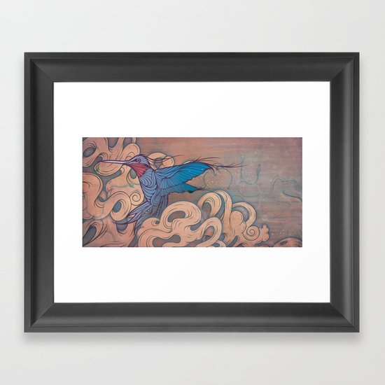 The Aerialist Framed Art Print