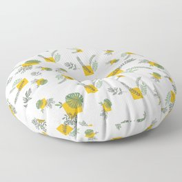 Wall Garden Floor Pillow