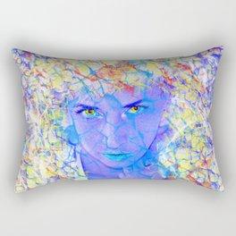 Electric Reality Rectangular Pillow