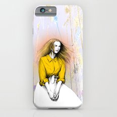 Girl in yellow iPhone 6s Slim Case