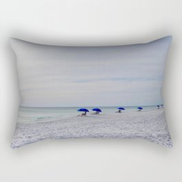 Serene Seagrove Beach Rectangular Pillow