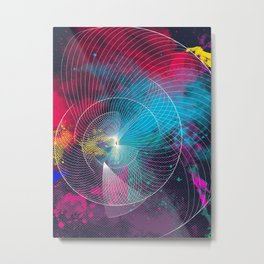 Longing for a colorful totality Metal Print