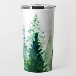 Pine Trees 2 Travel Mug